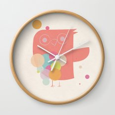 Owly Owl//One Wall Clock