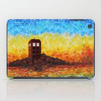 fandom iPad Cases featuring Tardis at the twilight zone iPhone 4 4s 5 5c 6, pillow case, mugs and tshirt by Three Second