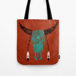 Southwest Skull Tote Bag