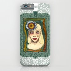 snakes and sunflower girl Slim Case iPhone 6s