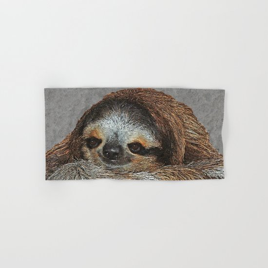 SLOTH LOVE Hand & Bath Towel