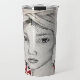 ethnic beauty Travel Mug