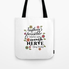 Anything's Possible - Ginny Weasley Tote Bag