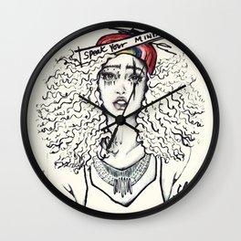 #STUKGIRL SKY Wall Clock