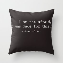 I was made for this Throw Pillow
