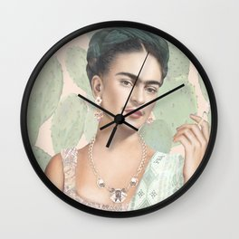 Couture Mexicaine Wall Clock