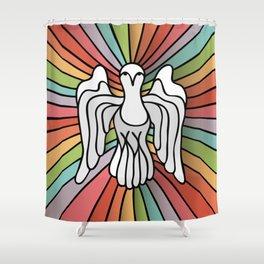 Rainbow Spirit Shower Curtain