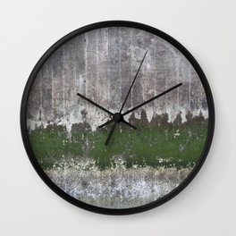 Clinging to Life Wall Clock