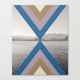 Boho Arrows of Lake Wanaka Canvas Print