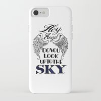 larry stylinson iPhone & iPod Cases featuring Hey Angel (Larry Stylinson) by Arabella