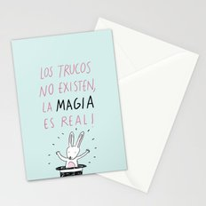 La magia Stationery Cards