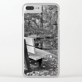 Never Yield Clear iPhone Case