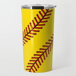 Fast Pitch Softball Travel Mug