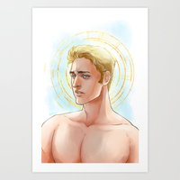 daunt Art Prints featuring The Intercession of St. George by Daunt