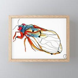Cicada II Framed Mini Art Print