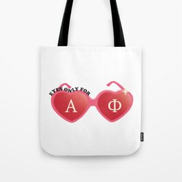 Eyes Only For A Phi Tote Bag
