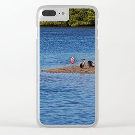 Unrhymed Structure Clear iPhone Case