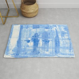 Blue Cell Rug