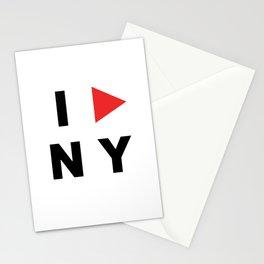 I PLAY NY Stationery Cards