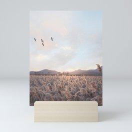 Wheat field Mini Art Print