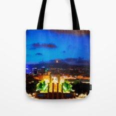 Barcelona. Montjuik Tote Bag