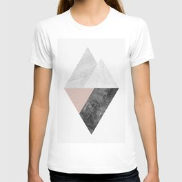 Marble fashion composition IV T-shirt