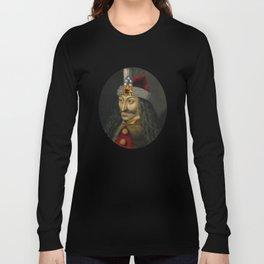 Vlad the Impaler Portrait Long Sleeve T-shirt