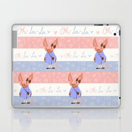 Little Missy  Aardvark in France! Laptop & iPad Skin