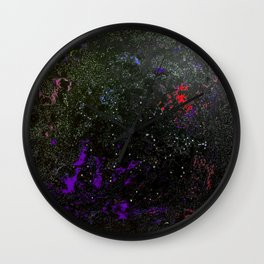 Southern Constellations (Red) Wall Clock