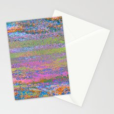 51-23-76 (Pastel Rainbow Glitch) Stationery Cards