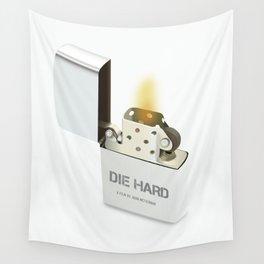 Die Hard - Alternative Movie Poster Wall Tapestry