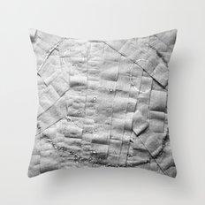 Smile on toilet paper Throw Pillow