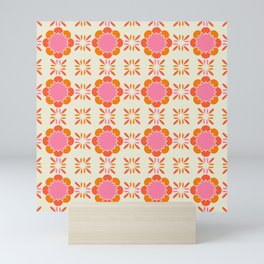 Sixties Tile Mini Art Print