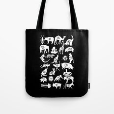 Animal A-Z Tote Bag