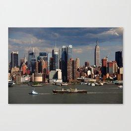 New York City Skyline 2009 Canvas Print