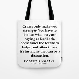 29   |  Robert Kiyosaki Quotes | 190824 Tote Bag