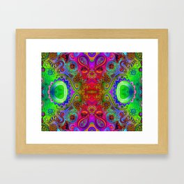 Seed 2 the Soul/ Worn Framed Art Print