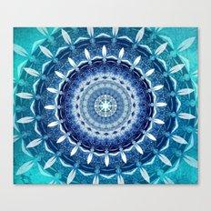 Absolute Zero Mandala Canvas Print