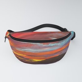 Red Sunset Fanny Pack