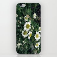 pushing daisies iPhone & iPod Skins featuring Pushing Daisies  by Little Krampus