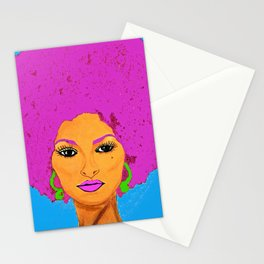 Pam Grier aka Jackie Brown c 1970's Diva Stationery Cards