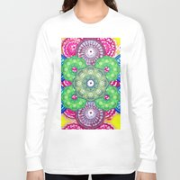 psychedelic Long Sleeve T-shirts featuring psychedelic  by Thedevilguru