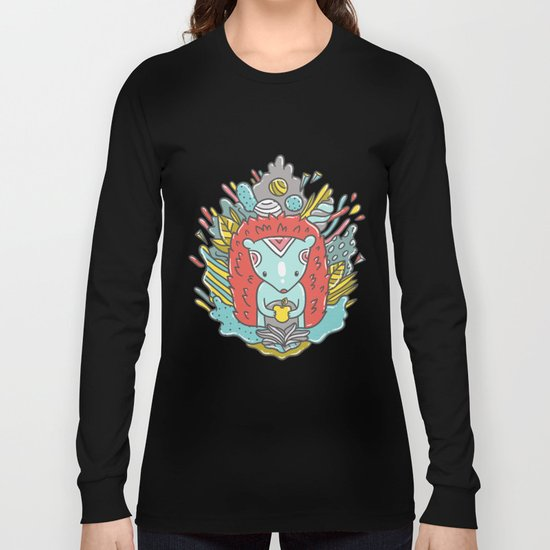 Abstract Hedgehog Long Sleeve T-shirt