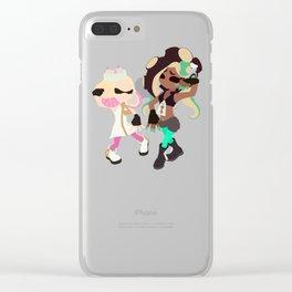 Marina & Pearl Deluxe - Splatoon 2 Clear iPhone Case