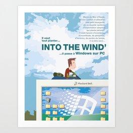 Into the Wind' Art Print