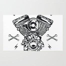 Custom Motorcycle Rug