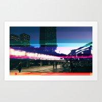 Project L0̷SS   Nathan Phillips Square, Toronto Art Print
