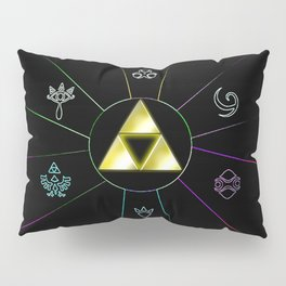 ZELDA TRIFORCE SYMBOL Pillow Sham