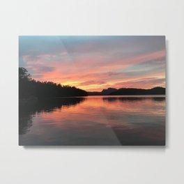 Pink Calm Metal Print
