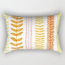 autumn colored vines Rectangular Pillow
